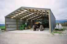 A large shed fit for extra large machinery
