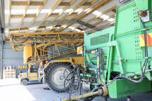 See how easily these large machines fit in an Alpine shed