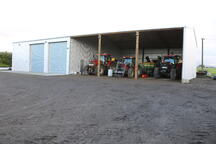 Implement and storage shed NZ