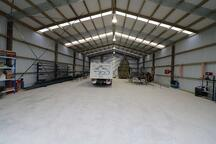 large workshop sheds