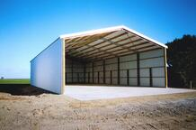 Alpine are experts at extra large sheds
