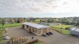 Farm storage shed
