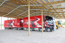 Contractor sheds need to be large to store large trucks