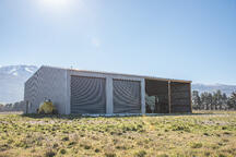 Storage shed with roller doors NZ