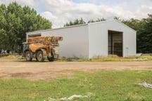 Big sheds for farm equipment