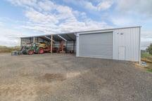 Tractor storage buildings
