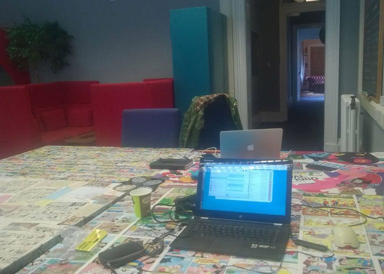 Dambord-coworking
