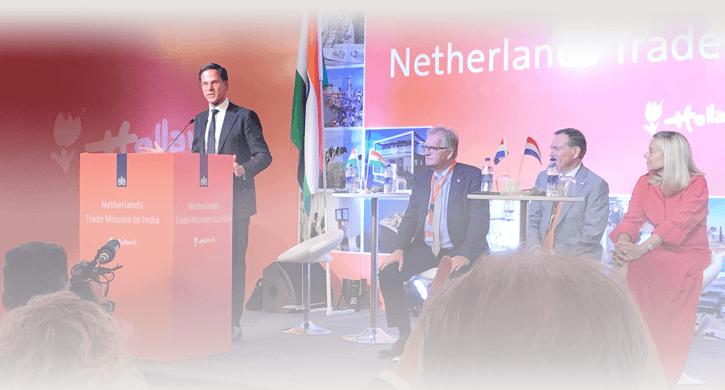 Delen van expertise en ervaring tijdens handelsmissie India