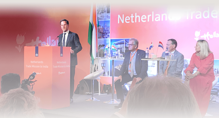 Sharing our expertise during Dutch trade mission to India