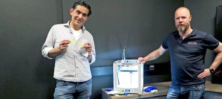 3D printers produceren strips voor mondkapjes