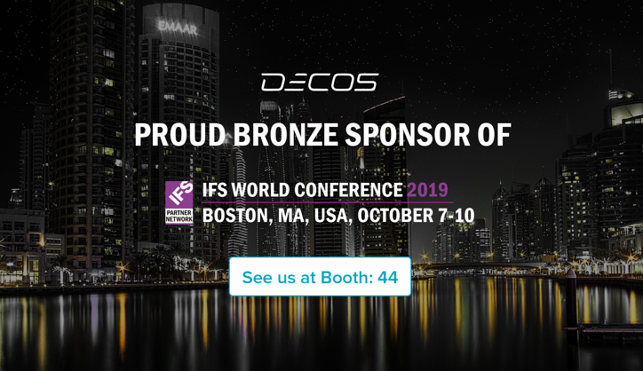 Decos to sponsor IFS World Conference for the second time