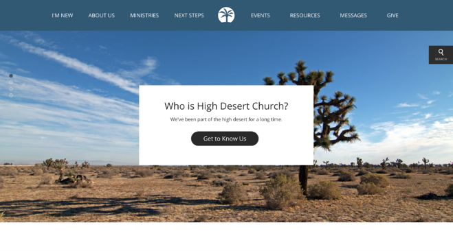 High Desert Homepage