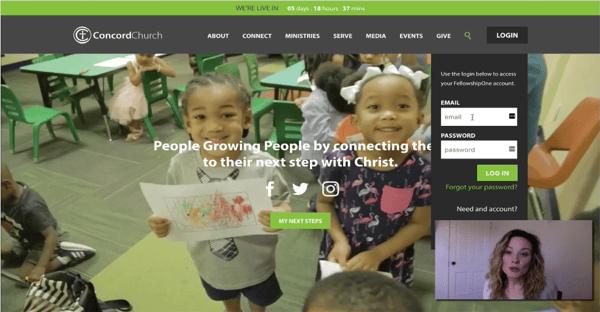 Church Website Webinar