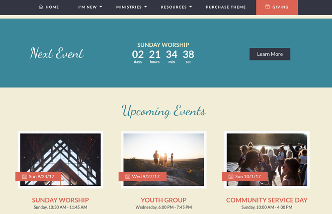 truth church website event countdown.png