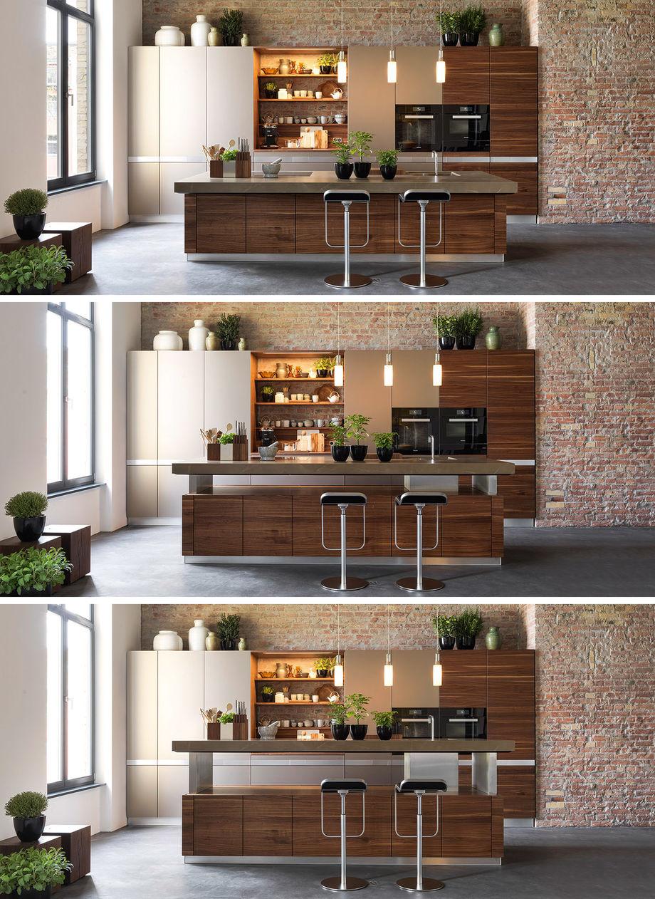 k7 adjustable kitchen island from Team 7