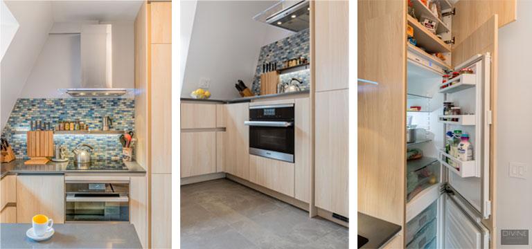 modern kitchen, white kitchen, loft, loft living, loft design, interior design, boston,north end, north end waterfront, modern kitchen design, boston showroom, design center