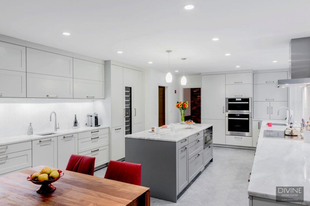 counterspace in a modern kitchen