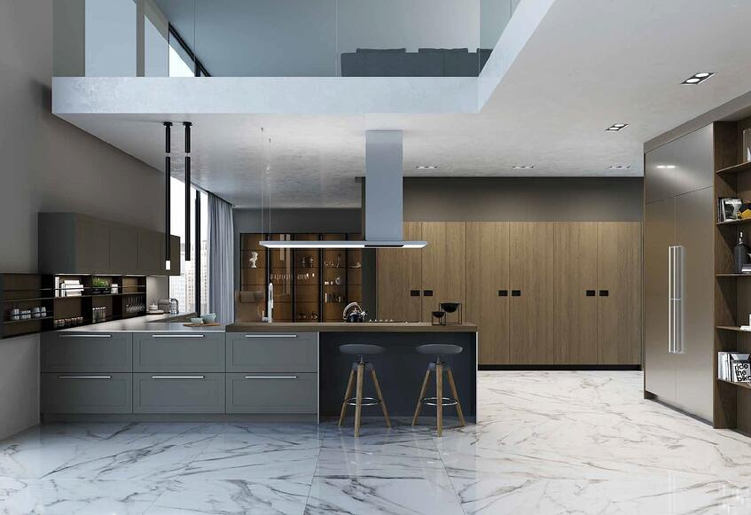 THE NEW TRANSITIONAL KITCHEN - AK Gallery by Arrital Cucine