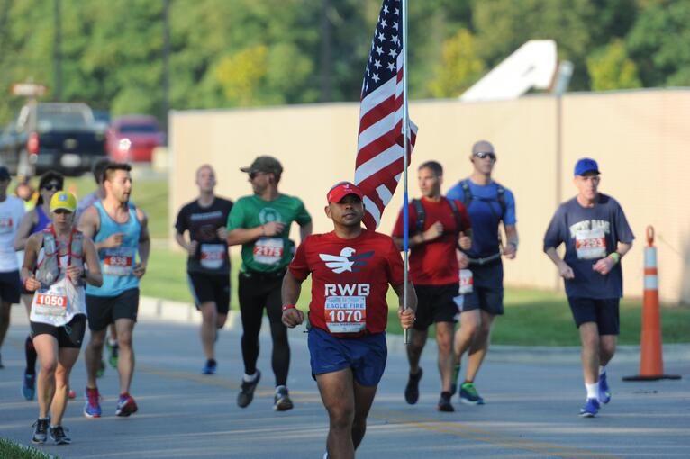 UES Sponsors Air Force Marathon and Supports Expo