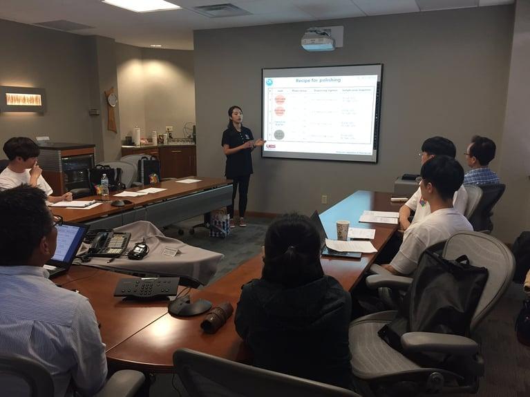 UES Robo-Met.3D® Team Hosts International Student Training