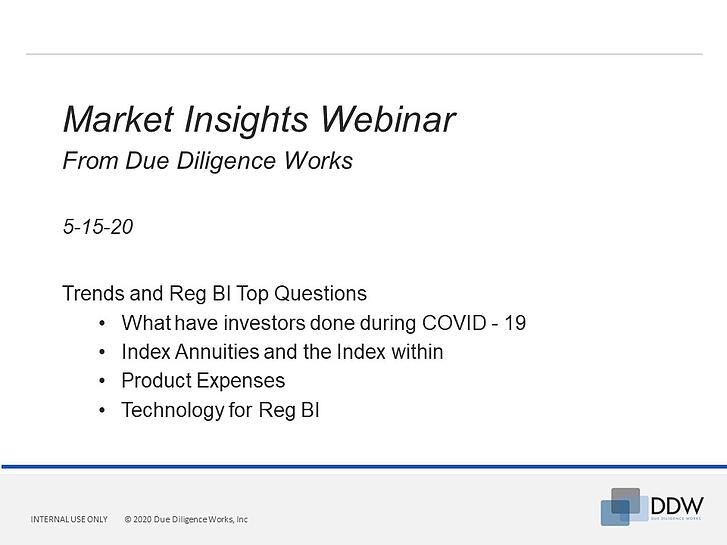 DDW s discusses Top Reg BI Questions and Industry Trends - Webinar
