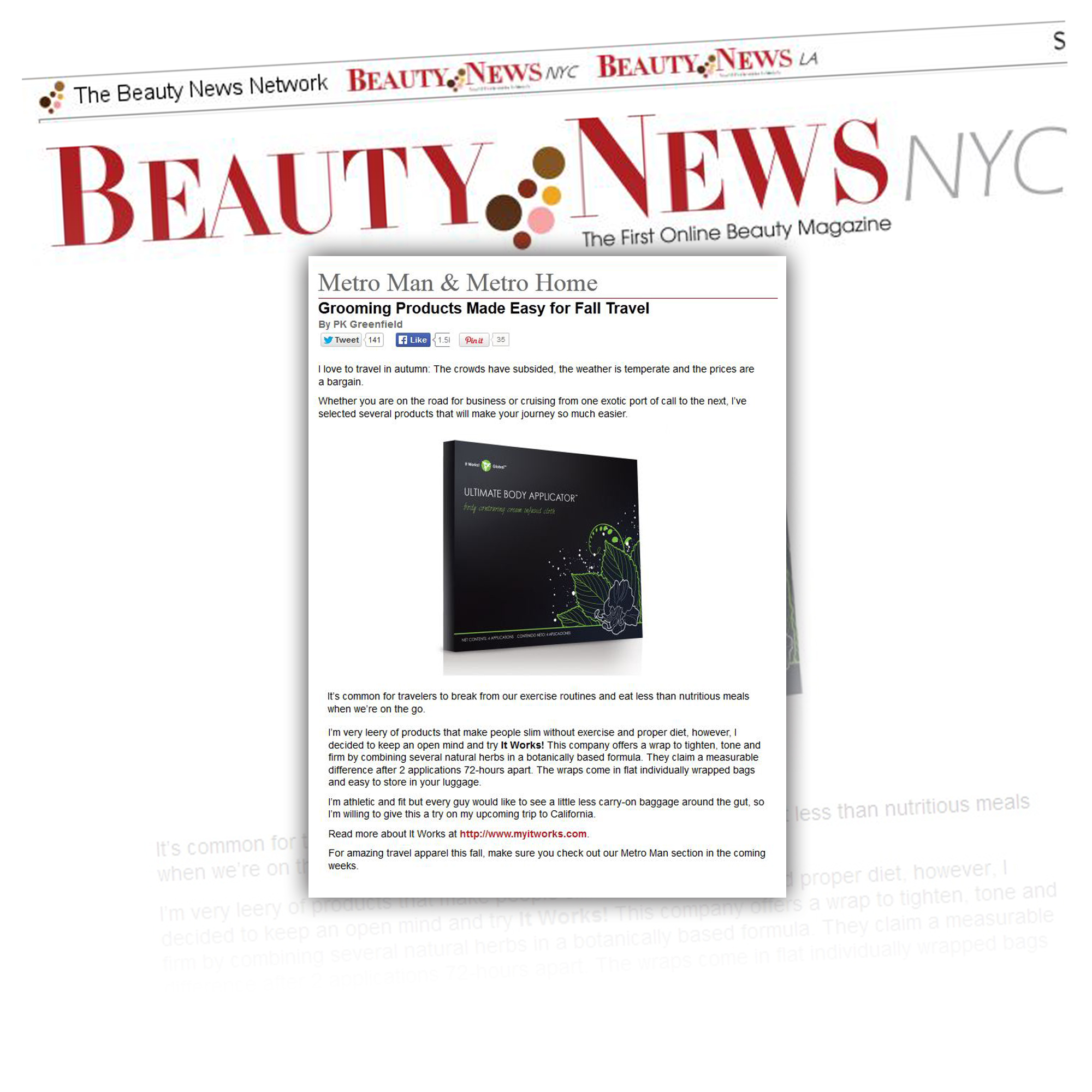 Axia helps beauty and wellness company reach 1.5 billion consumers