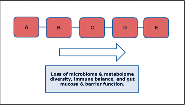 microbiome and metabolome loss
