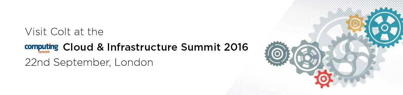Meet Colt at the Computing Cloud & Infrastructure Summit 2016