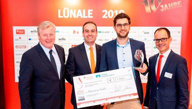 Adference erhält Gründerpreis impuls 2019