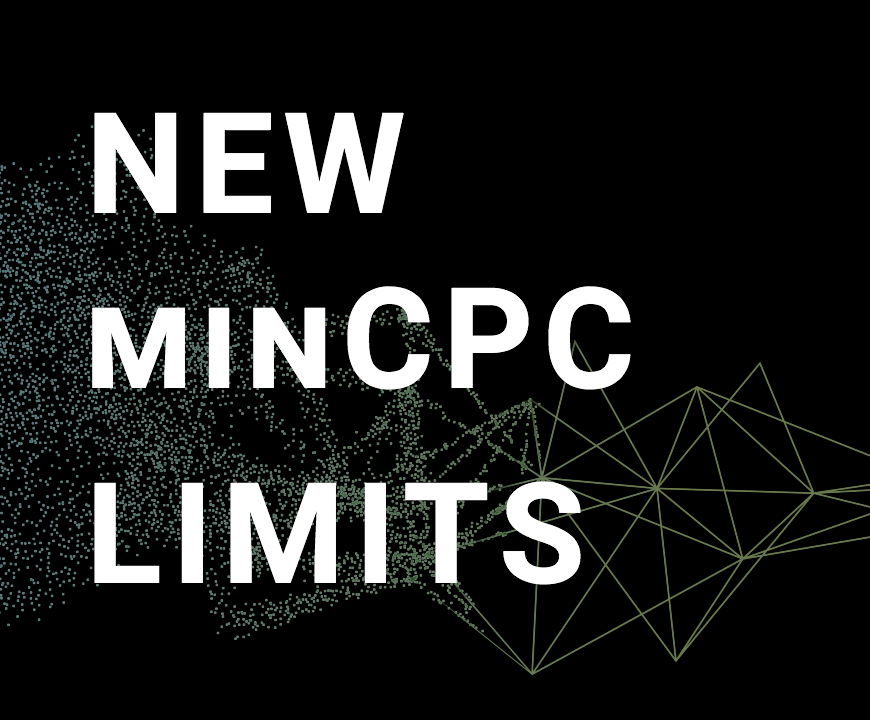 New Feature: Set your Minimum CPC