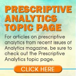 Prescriptive Analytics Topics