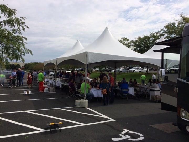 Meat Fest Tent