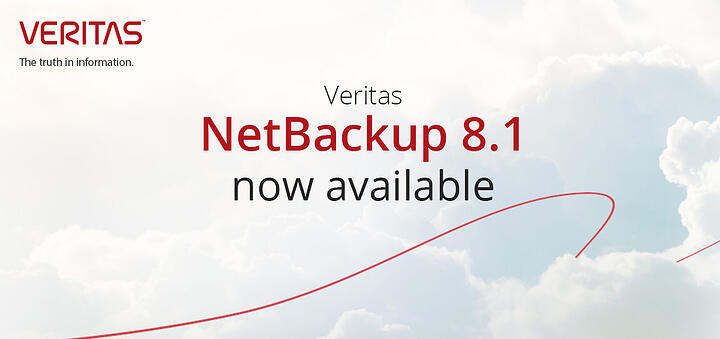 Veritas NetBackup 8.1 now available from First Distribution