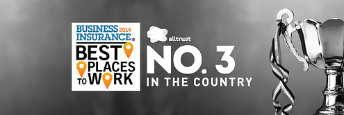 Alltrust Named Third in the Country in