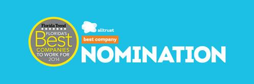 Alltrust Nominated: Best Employee Benefits Firm in Florida Trend Magazine