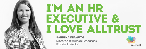 Florida State Fair's Director of Human Resources Loves Alltrust