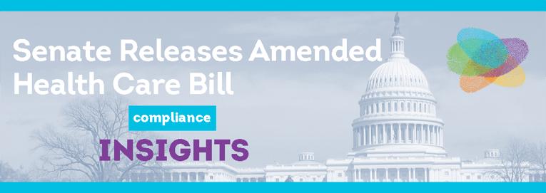 Senate Releases Amended Health Care Bill