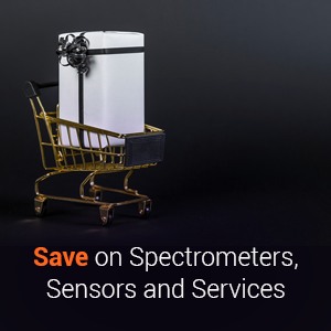 Save on Spectrometers, Sensors and Services