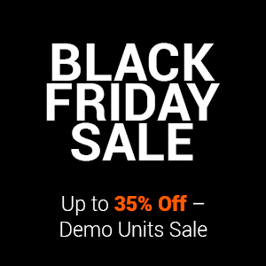 Up to 35% off demo units sale