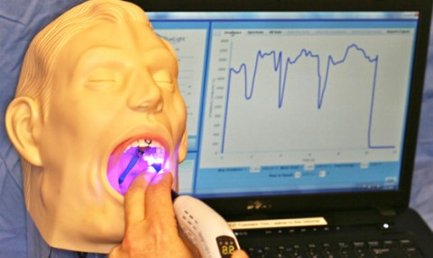 Dental Curing - Mannequin Head