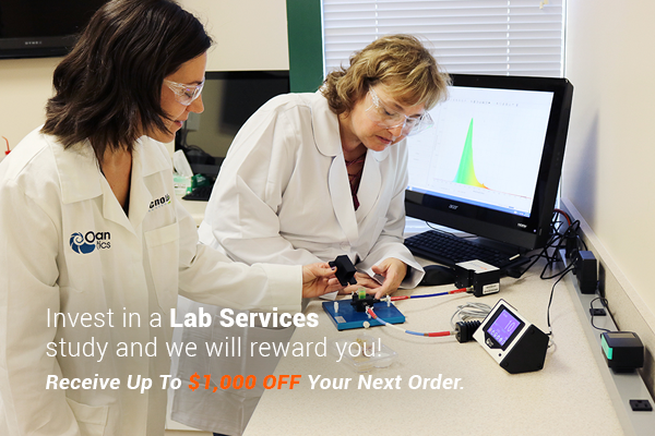 Invest in a Lab Services study and we will reward you!