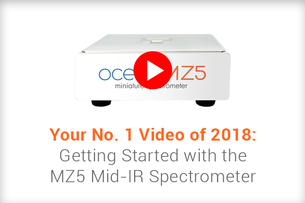 Your No. 1 Video of 2018: Getting Started with the MZ5 Mid-IR Spectrometer