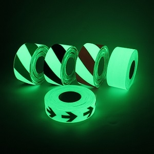 luminescent safety tape rolls