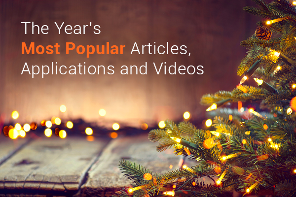 The Year's Most Popular Articles, Applications and Videos