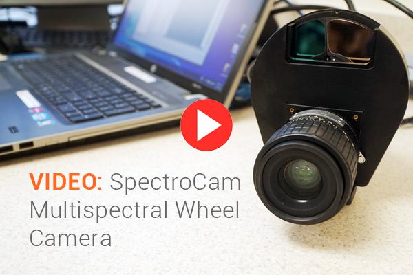 VIDEO: SpectroCam Multispectral Wheel Camera