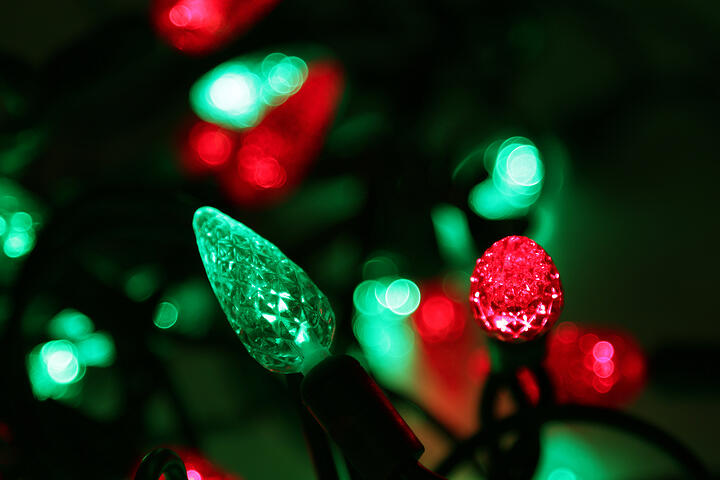 Red-and-Green-LED-Christmas-Lights