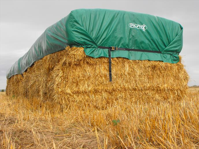 Why not to use eyelets on your Hay covers