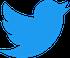 2021 Twitter logo - blue 58px