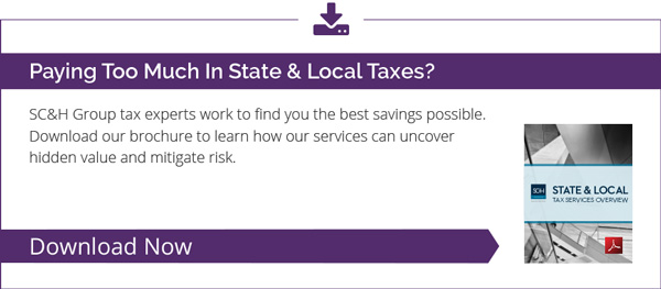 State & Local Tax Updates: California Sales & Use Tax for