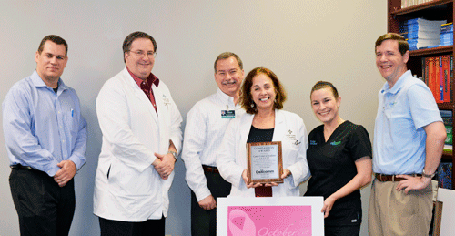 Cancer Center of Acadiana at Lafayette General - Award of Compassion